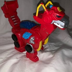 Imagine t playskool figure transformer rescue bot